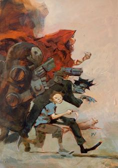 Magazine - Upcoming: Jeremy Geddes & Ashley Wood @ Jonathan Levine, NYC