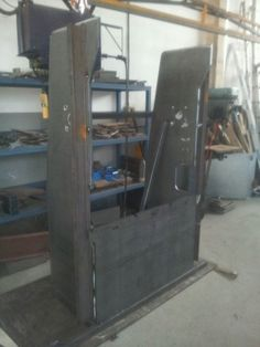 plegadora hidraúlica casera