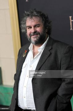 Director Sir Peter Jackson arrives for Premiere Of New Line Cinema, MGM Pictures And Warner Bros. Pictures' 'The Hobbit: The Battle Of The Five Armies' held at Dolby Theatre on December 9, 2014 in Hollywood, California.
