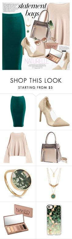 """""""Carry On: Statement Bags"""" by vanjazivadinovic ❤ liked on Polyvore featuring Tiffany & Co., Urban Decay, Casetify, STELLA McCARTNEY, polyvoreeditorial, statementbags and zaful"""