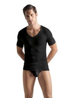 Hanro Cotton Superior T-Shirt V-Hals Wit