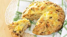 Recipes+ shows you how to make this crusty cheese and olive damper recipe.
