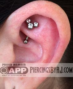 Piercings By AJ - Mother and daughter piercings from earlier today....