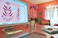 Kathleen's Laser Cut Into Reality Desk DeskTops - The Best of Readers' Desks