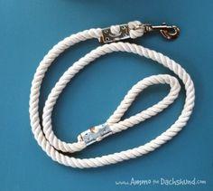 $5 diy rope dog leash