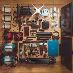 #MyCameraBag by #Repost @markglenisterfilm ・・・ #filmmaking #a7sii #ronin #drone #dji @djiglobal #osmo #phantom4 #atomosassassin @atomos news #4k #cinegears #cinematography #camerabag #markglenisterfilm #sonya7 #canonlenses