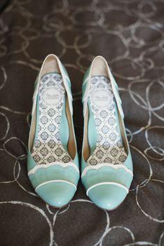 Mile vintage stekle pre nevestu / Nice vintage heels for the bride
