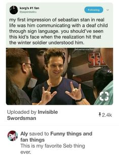Sebastian Stan portrays the fictional role of Marvel comic character Bucky Barnes/ Winter Soldier in the Marvel movies. He is hot and one of the handsome. Funny Marvel Memes, Dc Memes, Avengers Memes, Marvel Jokes, Marvel Avengers, Bucky Barnes, Tom Hiddleston, Marvel Comic Character, Marvel Actors