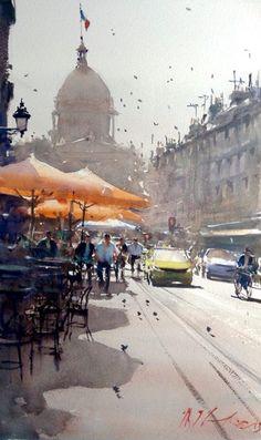 Joseph Zbukvic, Sunny day, Paris