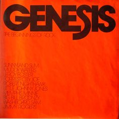 Various - Genesis: The Beginnings Of Rock