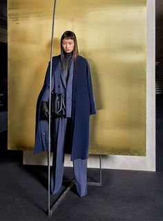 Fashion – Max Mara's Wool Denim collection for winter 2017 | Woolmark