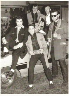 1950s teddy boys style trends history amp pictures