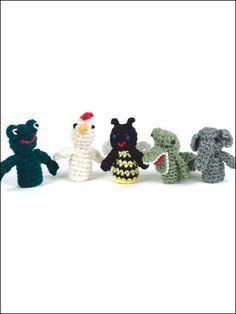 Keep the baby occupied with these adorable Finger Puppets.  The free crochet baby gift pattern is perfect for beginners! Freepatterns.com