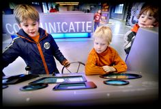 Het marinemuseum is ook leuk voor kinderen! Spelenderwijs leren