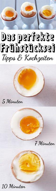 Die richtige Kochzeit für #Eier ist entscheidend! Mit diesen Tipps und Tricks ist das Kochen kein Problem #Frühstück