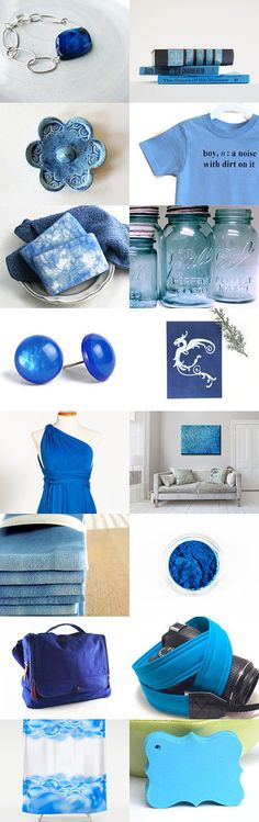 Blue Skies by Genevieve on Etsy--Pinned with TreasuryPin.com