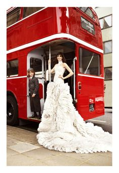 Incredible gown - Anne Hathaway for Harpers Bazaar US