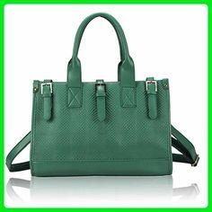 bb8f007b8be8c Saute Styles Women s Satchel Handbag Handbag Style 1  Olive Buckle Closure  Satchel - Top handle