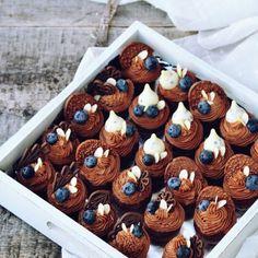 Enjoy Dessert! - Enjoy food, enjoy life! Mini Cupcakes, Chocolate Cupcakes, Cheesecakes, Sweets, Brioche, Kitchens, Drinks, Gummi Candy, Candy