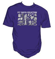 Squid Collection Unisex Purple