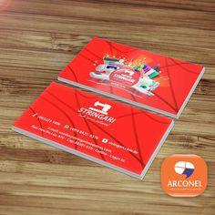 Cartões de Visita - Stringari - Tudo para costura!