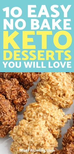 Keto desserts are a great way to stay in ketosis. These no-bake desserts hit the perfect spot.