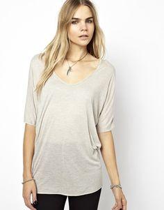 Image 1 - Zadig & Voltaire - T-shirt avec coutures en fil métallisé
