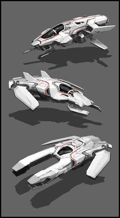 ArtStation - spaceships, Sam Brown