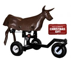 Ground-Driven SuperGoat by Heel-O-Matic... This could be some seriously dangerous fun ;) Jackpot, anyone?!