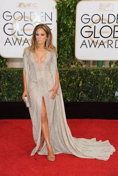 Golden Globes Red Carpet Photos: Arrivals at The 2015 Golden Globe Awards -Jennifer López 2015 Golden Globes