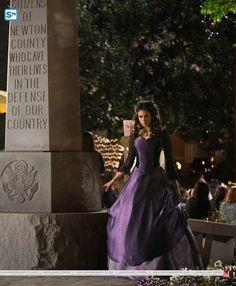 Nina Dobrev as Katherine in Vampire Diaries episode 2x22 as  i lay dying