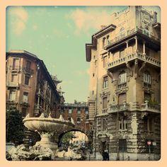 Piazza Mincio, Fontana delle Rane