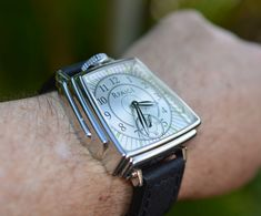 """Rpaige Skyscraper Art Deco Watch - See this incredible Chrysler building-inspired piece from our Mark Carson and Rpaige now at: aBlogtoWatch.com - """"After collaborating on the design of the 'Duo-Face' watch from the Rpaige Watch Co., Richard Paige challenged Duo-Face case designer Mark Carson to come up with an unexpected watch design. The result was the art deco 'Crash of '29' watch which used restored vintage American pocket watch movements..."""""""