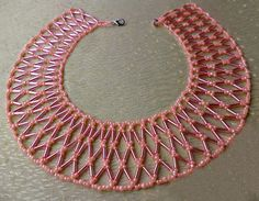 Free pattern for necklace Apricot Jam Click on link to get pattern - http://beadsmagic.com/?p=4776