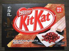 Fagioli Azuki - Gelati, Kitkat e Pepsi al Gusto Fagiolo Kit Kat Recipes, Japanese Kit Kat, Asian Snacks, Candy Brands, Red Beans, Burger King Logo, Pepsi, Oreo, Cravings