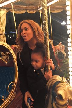 Beyoncé w/ her daughter Blue Ivy | Hero That Never Carried The O, Guess I'm Just Her
