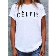 Celfie Shirt Tee XL Tops Soft cotton shirt. Brand new with tags. Size XL No Trades❗️Price Firm Travel Gems Tops