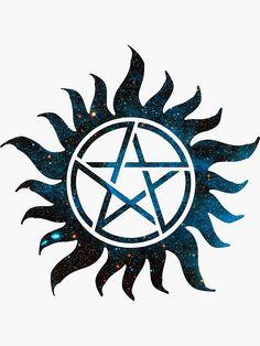 Simbolos Tattoo, Aa Tattoos, Cute Tattoos, Body Art Tattoos, Supernatural Merchandise, Supernatural Tattoo, Supernatural Wallpaper, Protection Symbols, Apple Watch Wallpaper