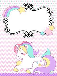 Lindas portadas de unicornios | Educación Primaria