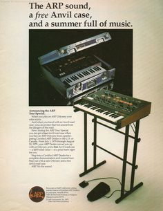ARP Odyssey - 1979 Retro Synth Ads