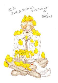 so cute!!!! Sanji~~~