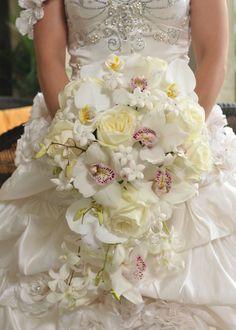 Floral Design, Decor & Centerpieces: Bridal Bouquet by MME Event Design & Productions. mmeentertainment.com. Plan your wedding with us now: 877.885.0705 | 212.971.5353