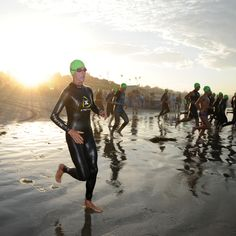 Swimming and biking and running, oh my! A triathlon may seem overwhelming, but this plan will prepare you for an Olympic-distance race—usually a 1.5K swim, 40Kride, and 10Krun—in just 12 weeks.