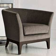 West Elm - tulip upholstered chair