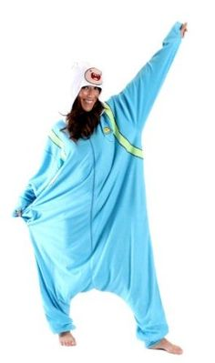 Adventure Time Finn Costume Pajama
