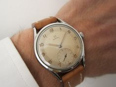 #Omega Sub-second, Manual, anno 1954, Ø: 36 mm, for sale. nk@my-pleasure.dk