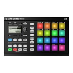 Native Instruments Maschine Mikro MKII Black from Sounds Easy