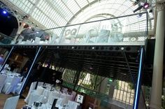 The GQ awards platform- our structure added an extra 100 people seating to the Royal Opera House event, this shows the capability of using our structure inside. #BespokeStructure #Mezzanine #ModularStructure #AwardsShow