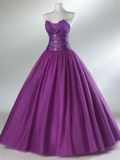 Now this is a purple dress!