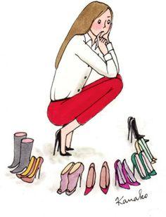 Sometimes it's hard to choose...... Lol! Aline ♥